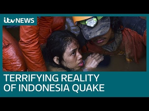 'Hundreds Buried In Mud' After Indonesia's Deadly Earthquake | ITV News