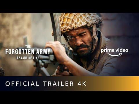 The Forgotten Army Azaadi Ke Liye - Official Trailer 2020   Kabir Khan   Sunny Kaushal, Sharvari  4K