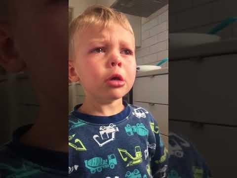 Pojan suru, kun pekoni loppui