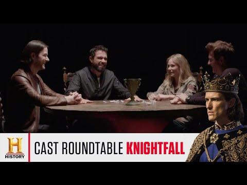 Knightfall Season 2 Cast discuss Fitness & Templar Training | HISTORY UK