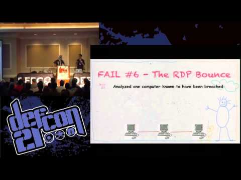 Defcon 21 – Forensic Fails – Shift + Delete Won't Help You Here
