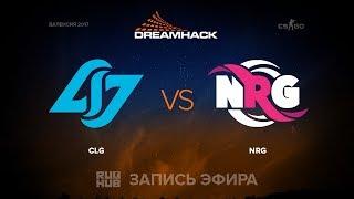CLG vs NRG - DH Open Valencia - de_overpass [mintgod, sleepsomewhile]