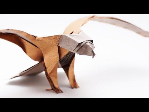 ORIGAMI AMERICAN EAGLE v2 (Jo Nakashima) - Time-lapse