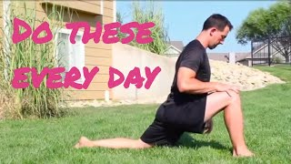 Hip Mobility and Glute Stretches