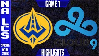 Video GGS vs C9 Highlights | NA LCS Spring 2018 S8 W1D2 | Golden Guardians vs Cloud9 Highlights MP3, 3GP, MP4, WEBM, AVI, FLV Agustus 2018