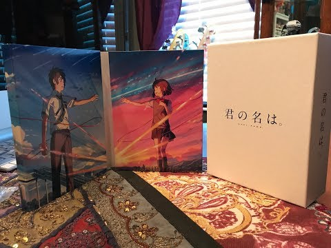 Kimi no Na Wa (Your Name) Blu-Ray Collector's Edition Unboxing