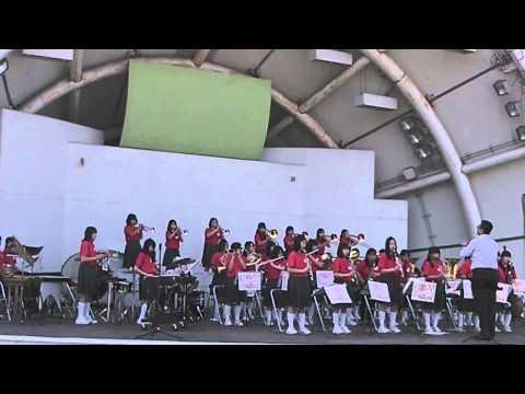 20140427亀岡中学校吹奏楽部