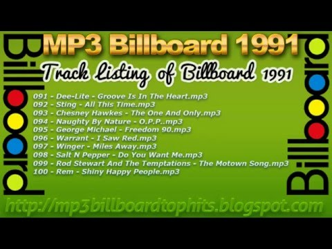 mp3 BILLBOARD 1991 TOP Hits mp3 BILLBOARD 1991