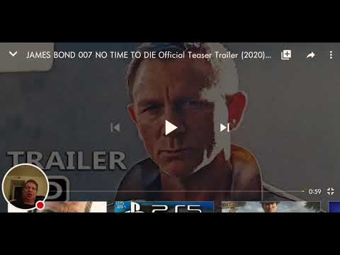 No time to die teaser reaction