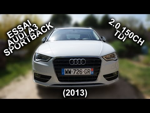 AUDI A3 Sportback 2.0 150 cv Ambition 1er Main LED GPS