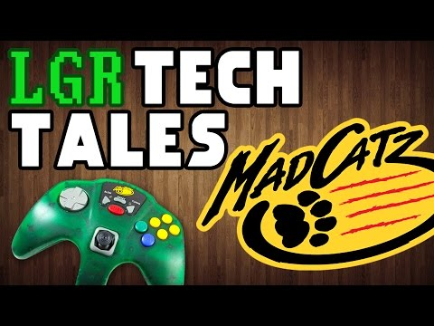 The Life & Death of Mad Catz [LGR Tech Tales]