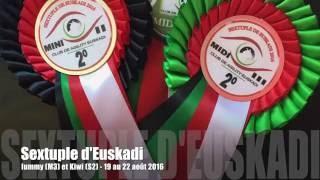 Kiwi (Azulian Atomic Twinkle Star) en la Sextuple de Euskadi