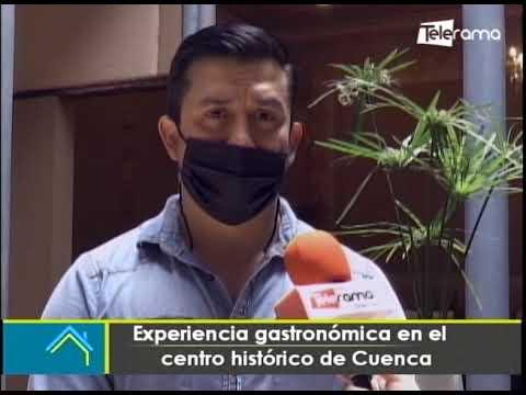 Experiencia gastronómica en el centro histórico de Cuenca