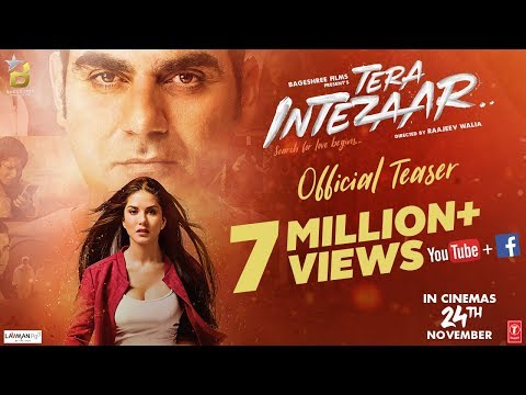 Tera Intezaar Official Teaser | Sunny Leone | Arbaaz Khan | Raajeev Walia | Bageshree Films | 24 Nov - Movie7.Online