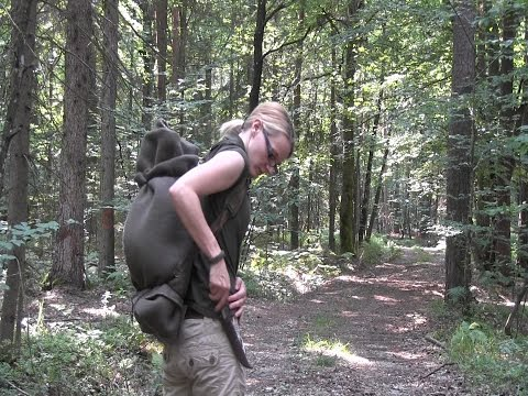 survival - In this video I show you my minimalist survival pack. Packing list: 1 Wetterlings Hatchet 1 Kellam Wolverine Puuko Knife 1 Wool Blanket Sleeping Bag 1 Milita...