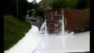 Accidente Trailer - En Guatemala