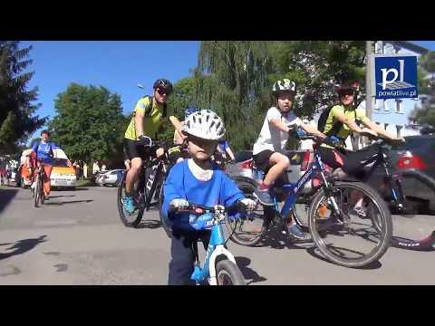 Rodzinna eskapada na rowerach