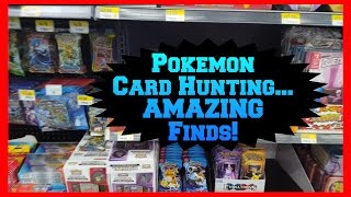 POKEMON CARD HUNTING At Walmart & More for NEW Pokemon Boxes by ThePokeCapital