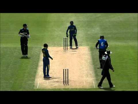 New Zealand A v Sri Lanka A game 4 highlights