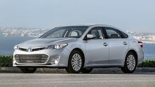 First Test: 2014 Toyota Avalon Limited Hybrid Smug XL. The fourth-gen Avalon is the first time a hybrid powertrain has been offered in Toyota's flagship seda...