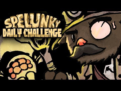 Spelunky Daily Challenge With Baer! - 10/13/2018