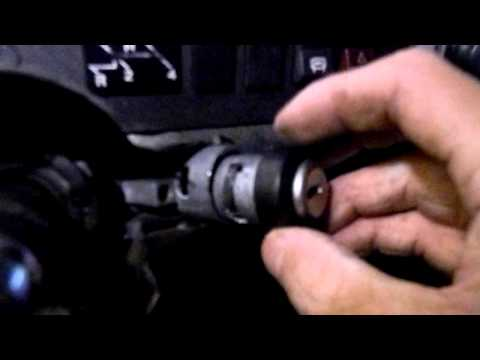 how to remove and install a 1973 vw superbeetle ignition barrel and lock pin