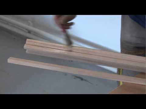 comment poser une rampe d'escalier en bois