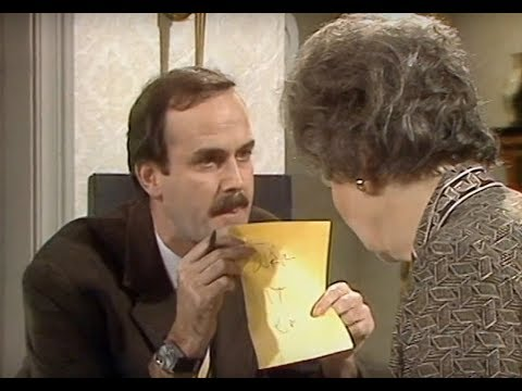 Fawlty Towers: Turn it on!