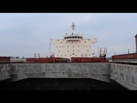 Panamax в Любеке: заглянуть в трюм гиганта (видео) - Центр транспортных стратегий