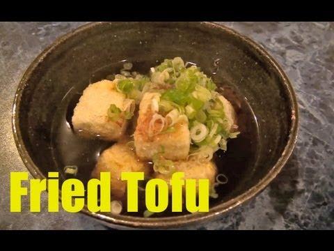 Japanese Food: How to Make a Simple Fried Tofu Soup