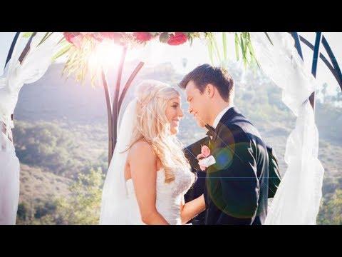 REBECCA ZAMOLO AND MATT SLAYS WEDDING VIDEO!