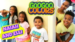 Video EPIC HIDE AND SEEK with Naiah and Elli Toys Show and Goo Goo Colors - Onyx Kids download in MP3, 3GP, MP4, WEBM, AVI, FLV January 2017