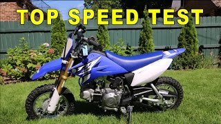 1. 2015 Yamaha TTR 50 Top Speed (GPS VERIFIED)