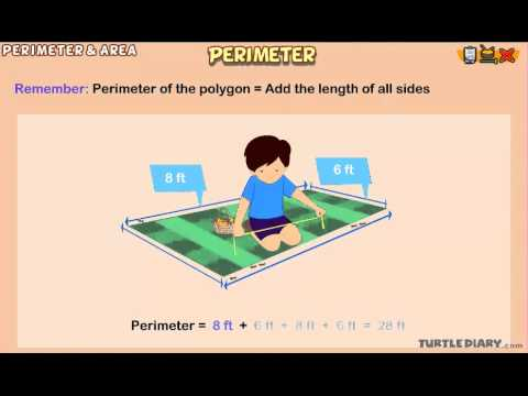 Watching Math Lessons grade 3 of Perimeter   Animated Math Lesson for Grade 3 ...