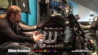 6. 2014 Triumph Rocket 3 at Dillon Brothers Motorsports (Omaha)