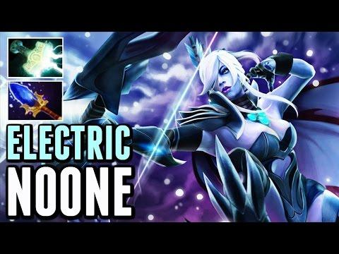 Electric Bow Drow Ranger Carry By Noone Mjolnir vs SoNNeikO Fun Pub Gameplay Dota 2