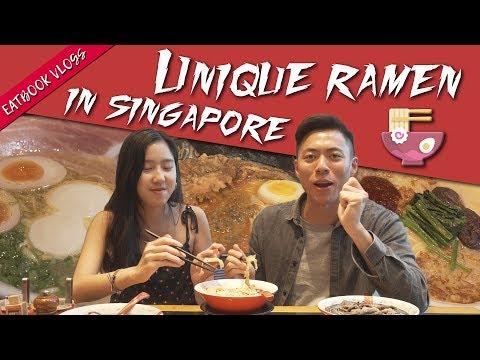 Unique Ramen in Singapore | Eatbook Vlogs | EP 78