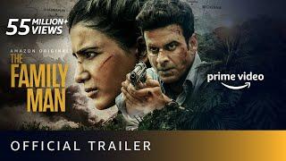 The Family Man Season 2 – Official Trailer 4K | Raj & DK | Manoj Bajpayee, Samantha