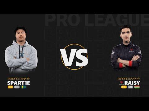 Spart1e vs RAISY - Quake Pro League - Stage 2 - Week 3