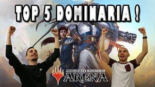 TOP 5 DES MEILLEURES CARTES DE DOMINARIA PAR RARETÉ !!!