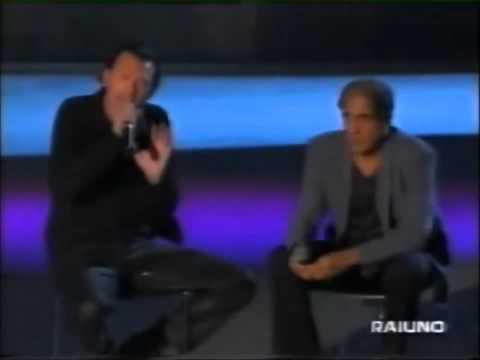 Biagio Antonacci e Adriano Celentano L'emozione non ha voce (Live 1999) (видео)