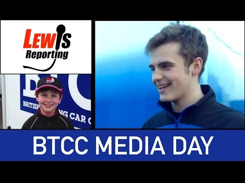 BTCC Media Day 2015 - Aiden Moffatt - Laser Tools Racing