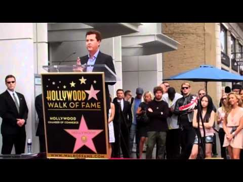 Simon Fuller Walk of Fame Ceremony