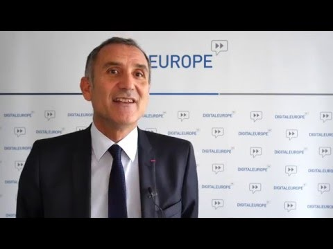 Watch a video called 'Guy Mamou-Mani, CEO, Open on eSkills and the #JamaisSansElles initiative '