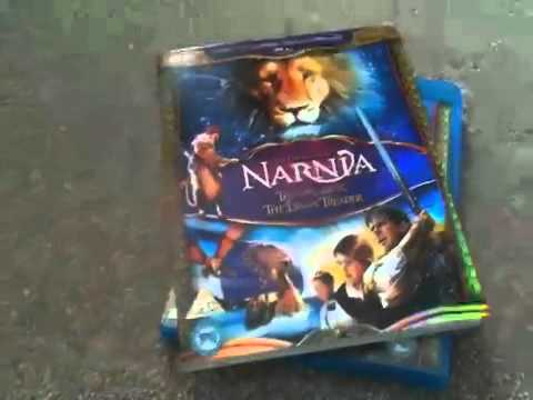 Narnia the voyage of the dawn treader blu-ray unboxing