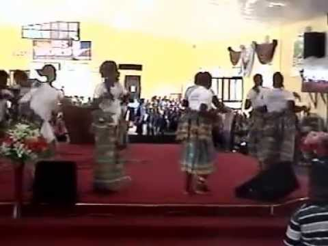 IJAW CUTURAL DANCE SUNDAY 22ND JUNE 2014  2ND SERVICE MINISTERING IJAW 4