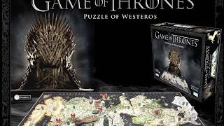 Like my puzzle making skills ;) Game of Thrones 4D puzzle available at...