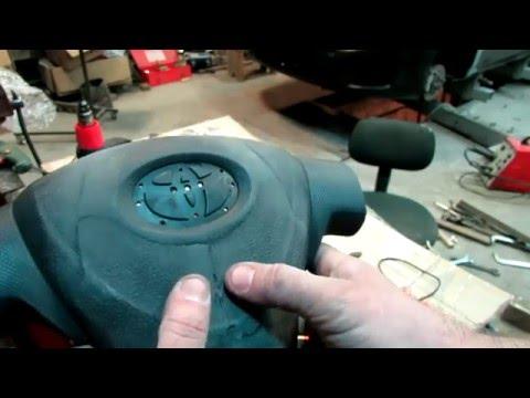 Подушки безопасности в автомобиле ремонт своими руками