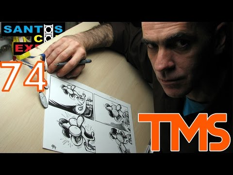 Marcatti! - Santos Comic Expo 2014 fase 9 - The Mullets Show #74