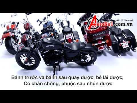 Bộ Sưu Tập Xe Mô Hình Harley-Davidson 1:12